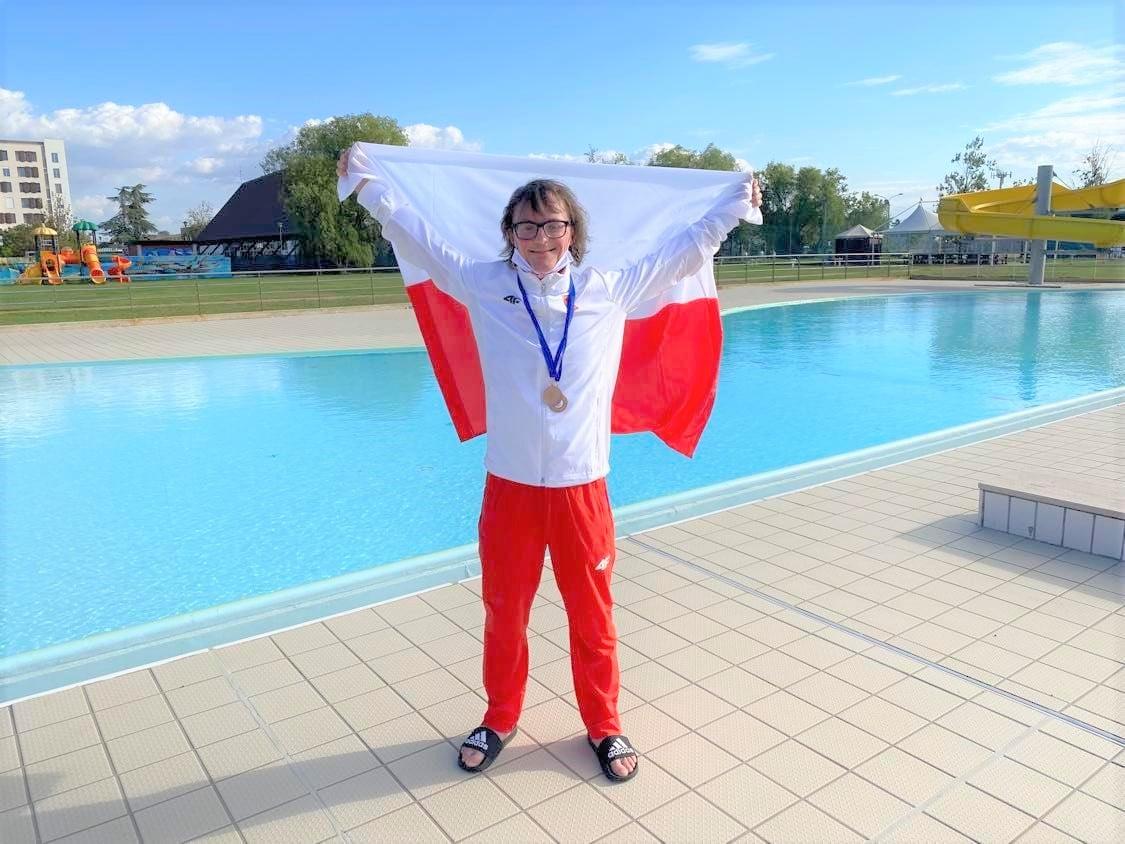 Paweł wrócił do nas z medalami